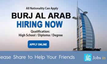 jobs in Burj Al Arab Careers -Dubai